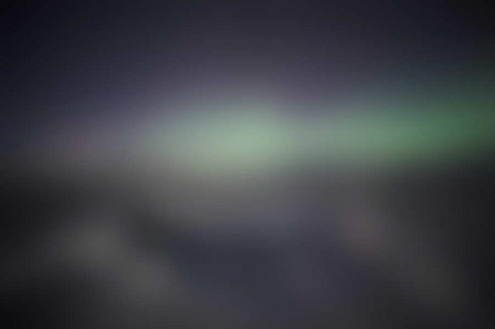 Natural phenomenon of Northern Lights
